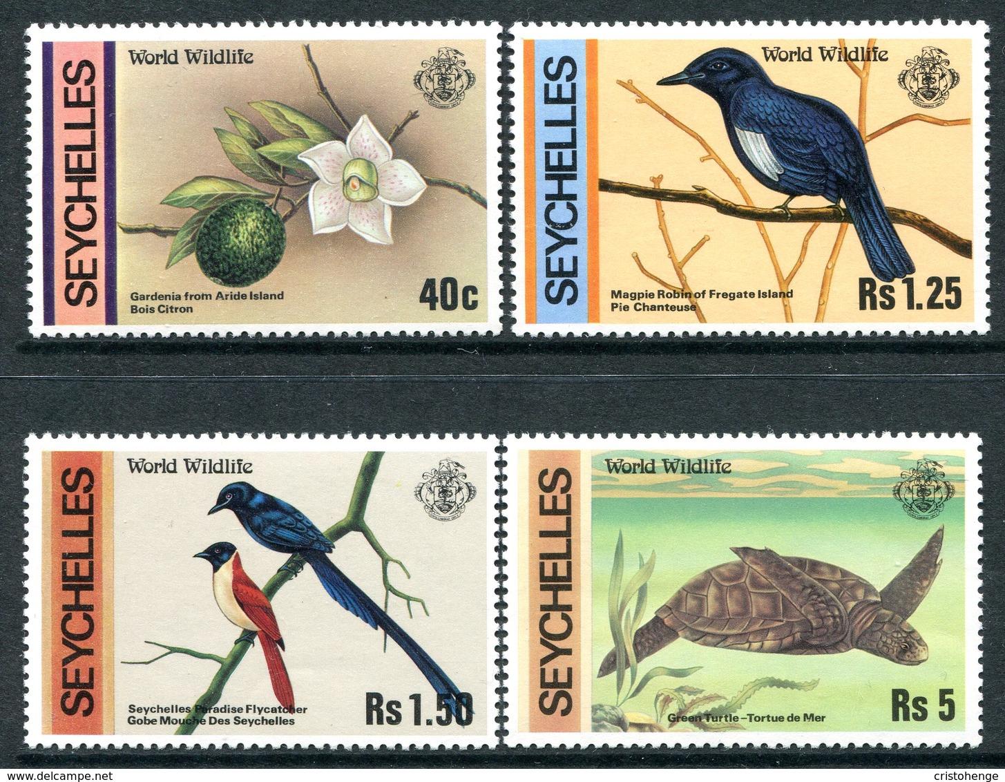 Seychelles 1978 Wildlife Set MNH (SG 433-436) - Seychelles (1976-...)