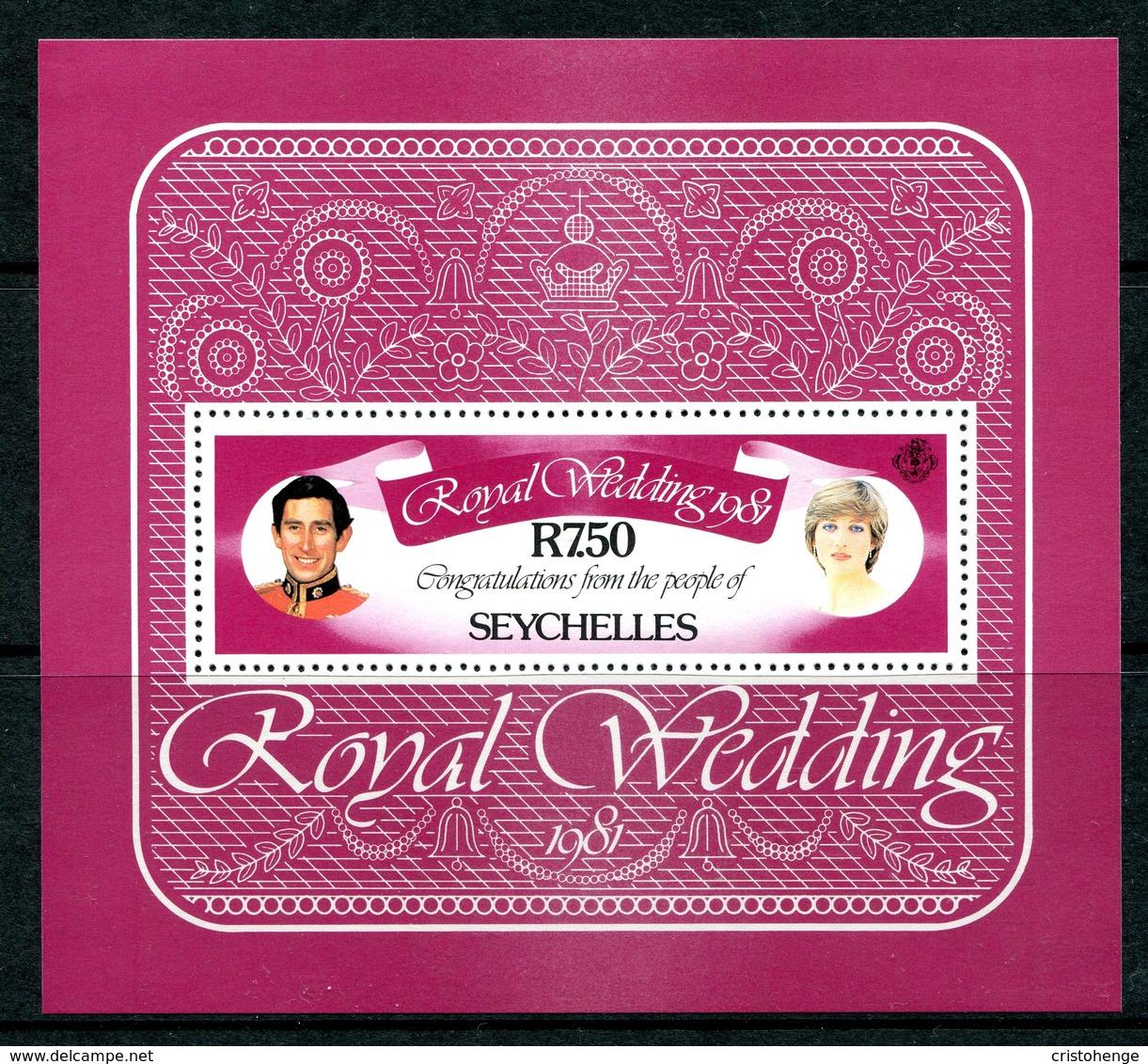 Seychelles 1981 Royal Wedding MS MNH (SG MS511) - Seychelles (1976-...)