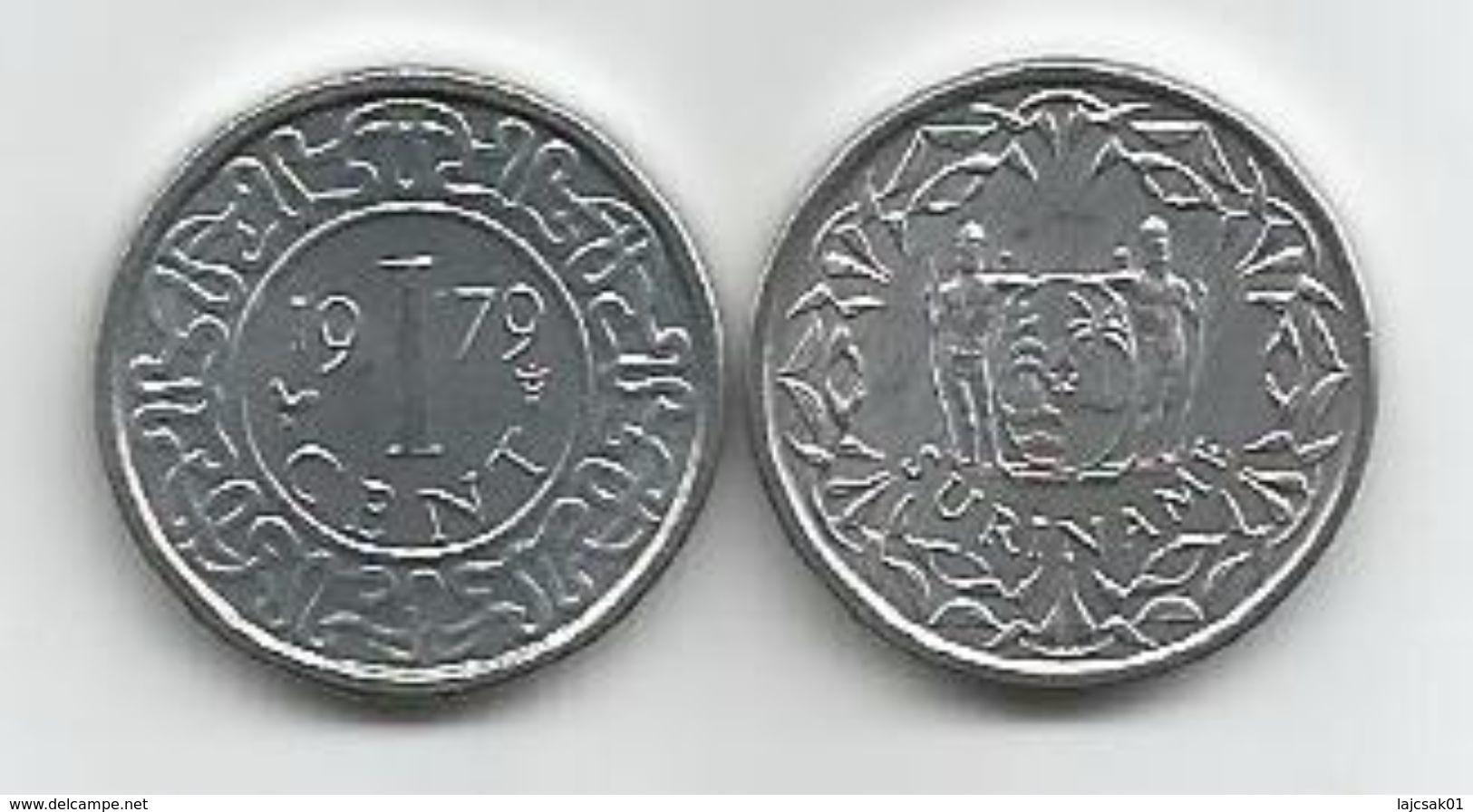 Surinam 1 Cent 1979. KM#11a High Grade - Surinam 1975 - ...
