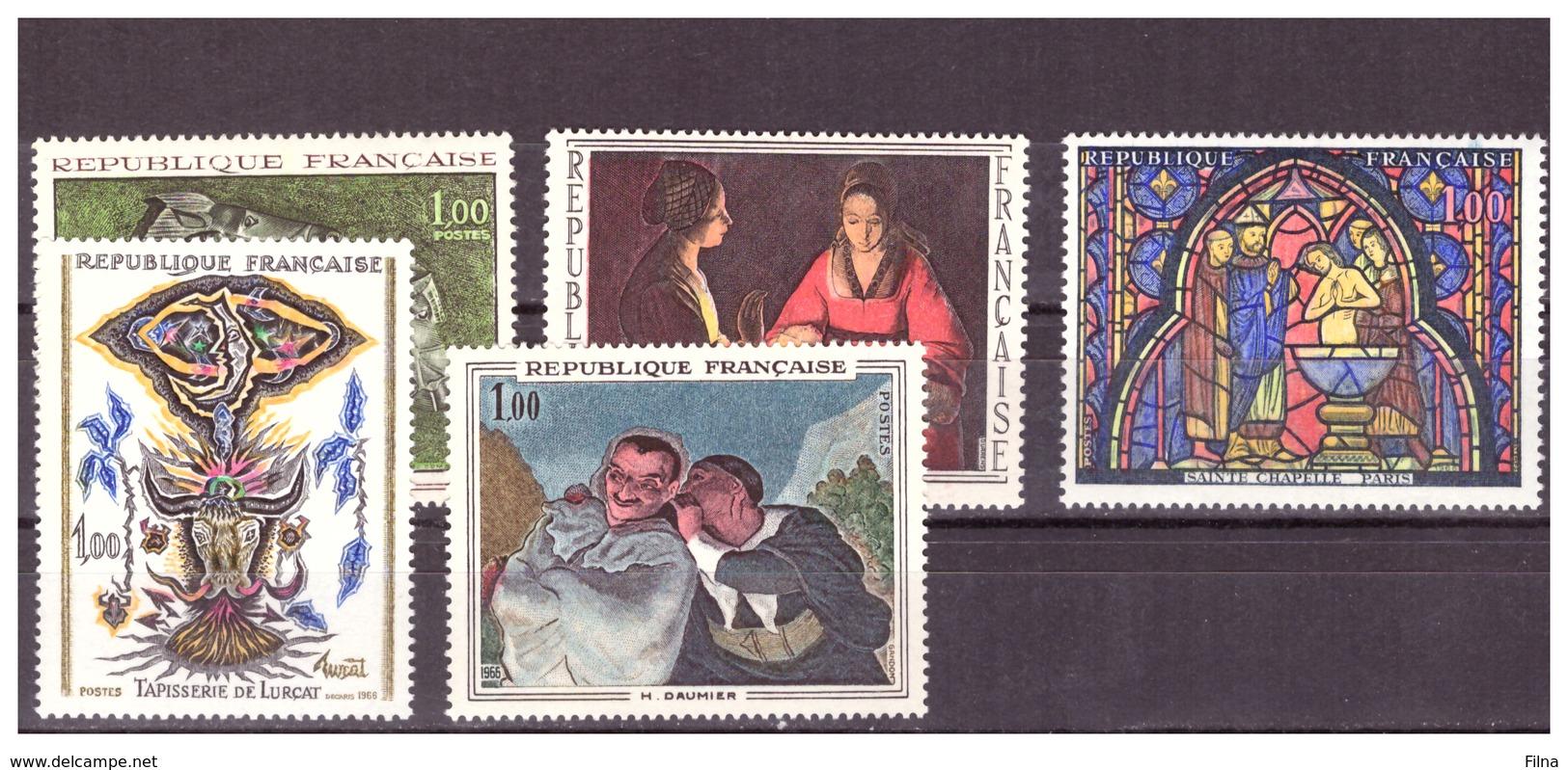 FRANCIA ARTE - 1966- SERIE COMPLETA. - MNH** - Autres