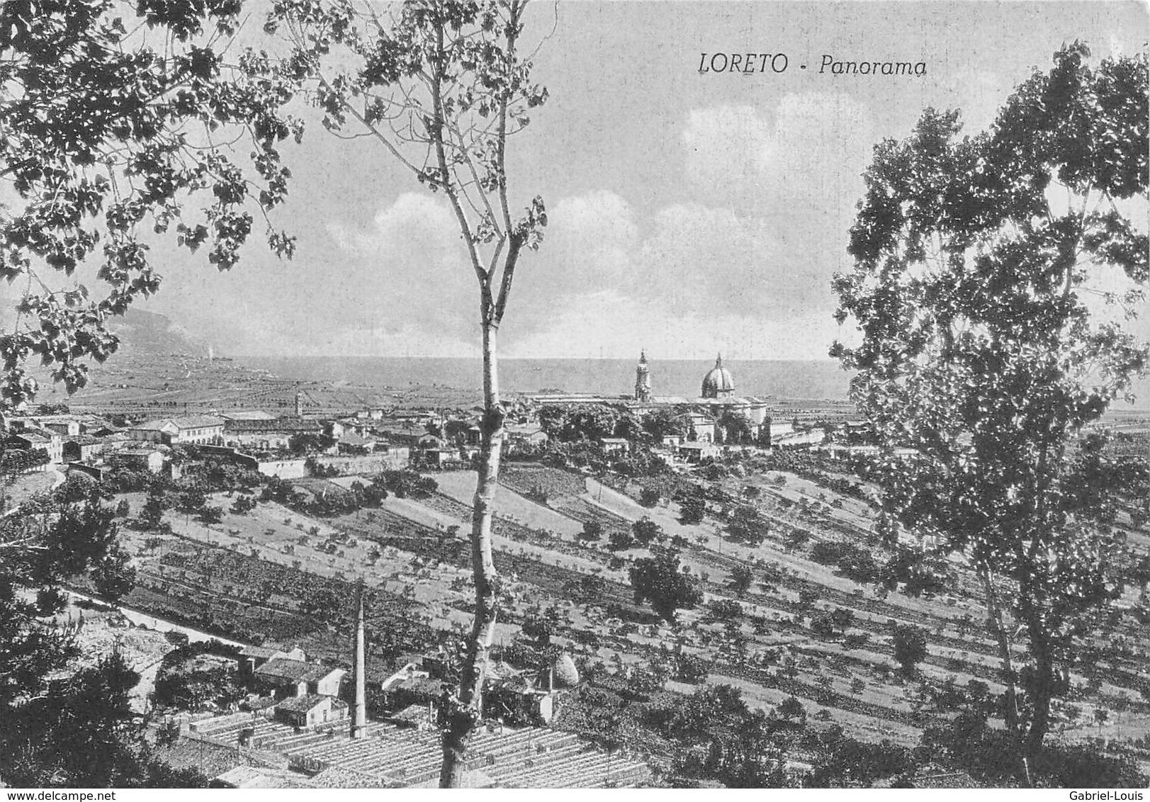 Loreto Panorama (10 X 15 ) Non Circulé - Ancona
