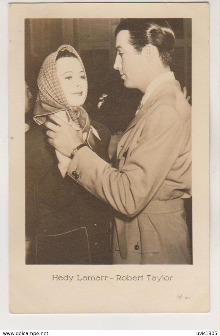 Robert Taylor & Hedy Lamarr .Latvian Edition Nr.3870 - Acteurs