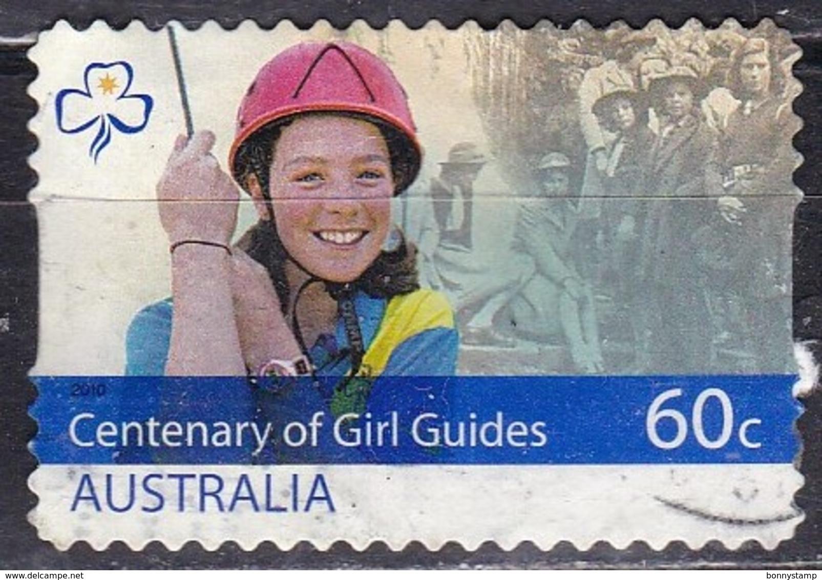 Australia, 2010 - 60c Centenary Of Girl Guide - Nr.3346 Usato° - 2010-... Elizabeth II