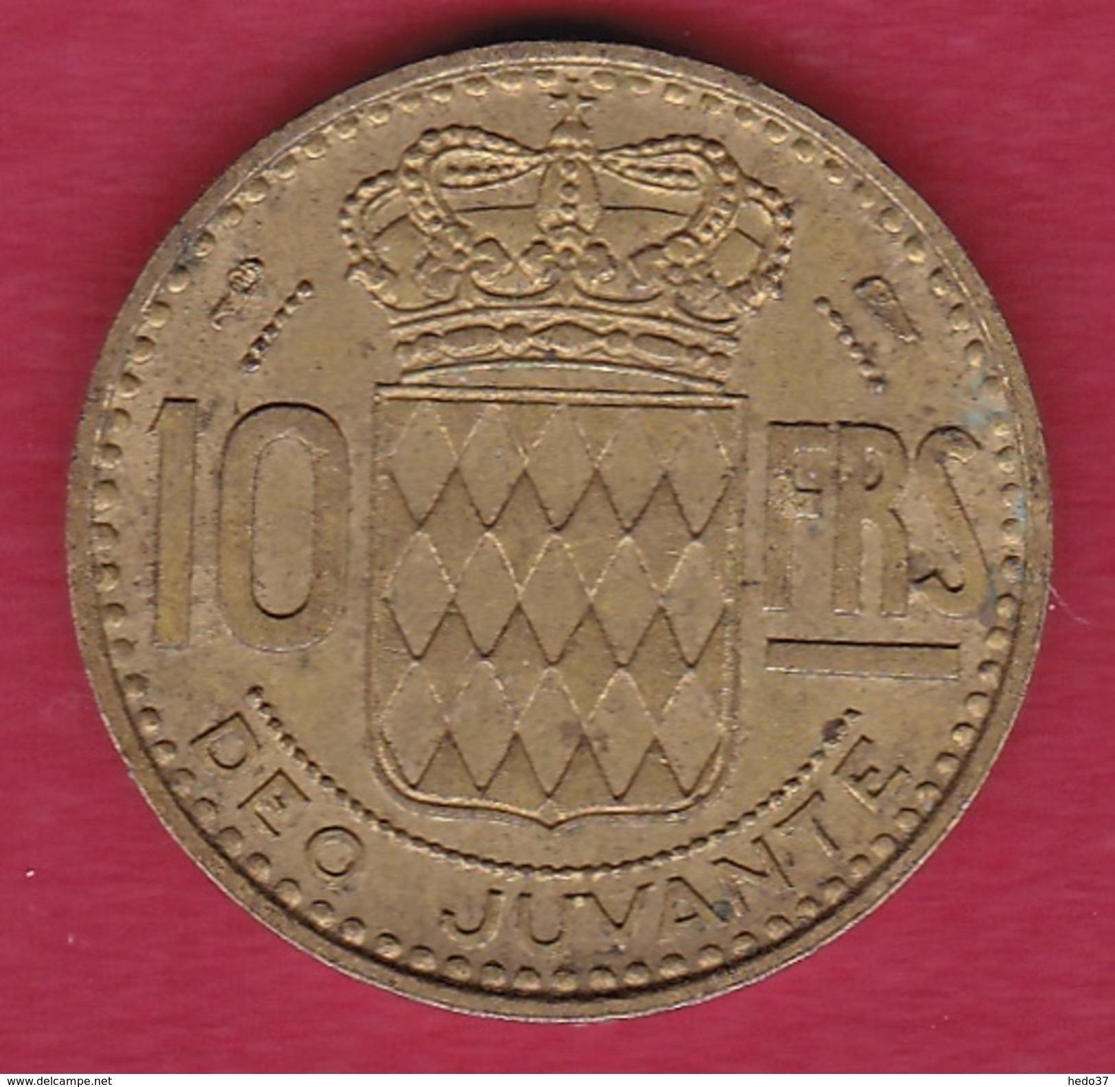 Monaco - Rainier III - 10 Francs - 1950 - Monaco