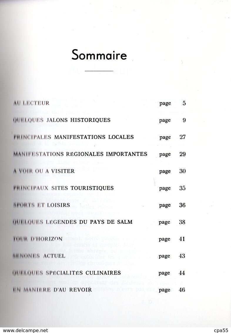 A LA DECOUVERTE DE SENONES EN SALM  -  Jolie Plaquette De 48 Pages  -  1972 - Senones