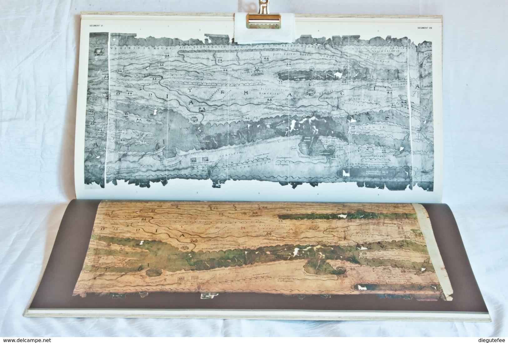 TABULA PEUTINGERIANA   DIE PEUTINGERSCHE TAFEL    Codex Vindobonensis 324 - 1. Frühgeschichte & Altertum