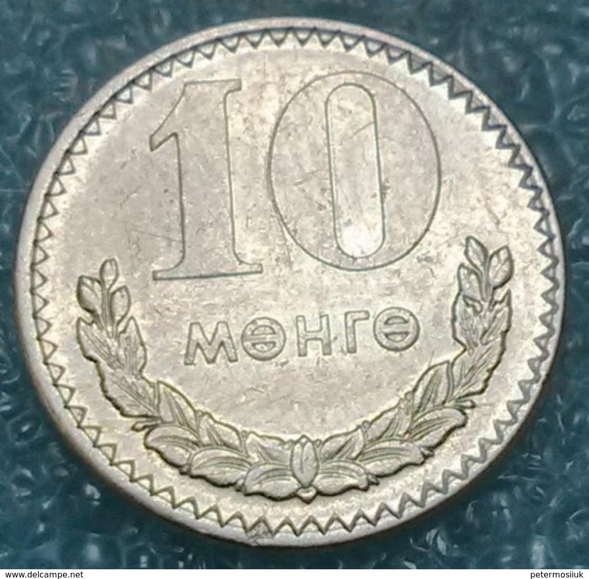 Mongolia 10 Möngö, 1977 - Mongolie