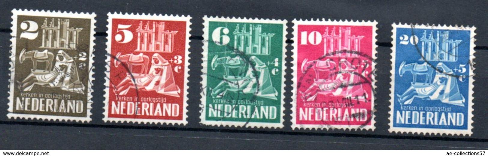 Pays Bas / Série N 542 à 546 / Oblitérés - Period 1949-1980 (Juliana)