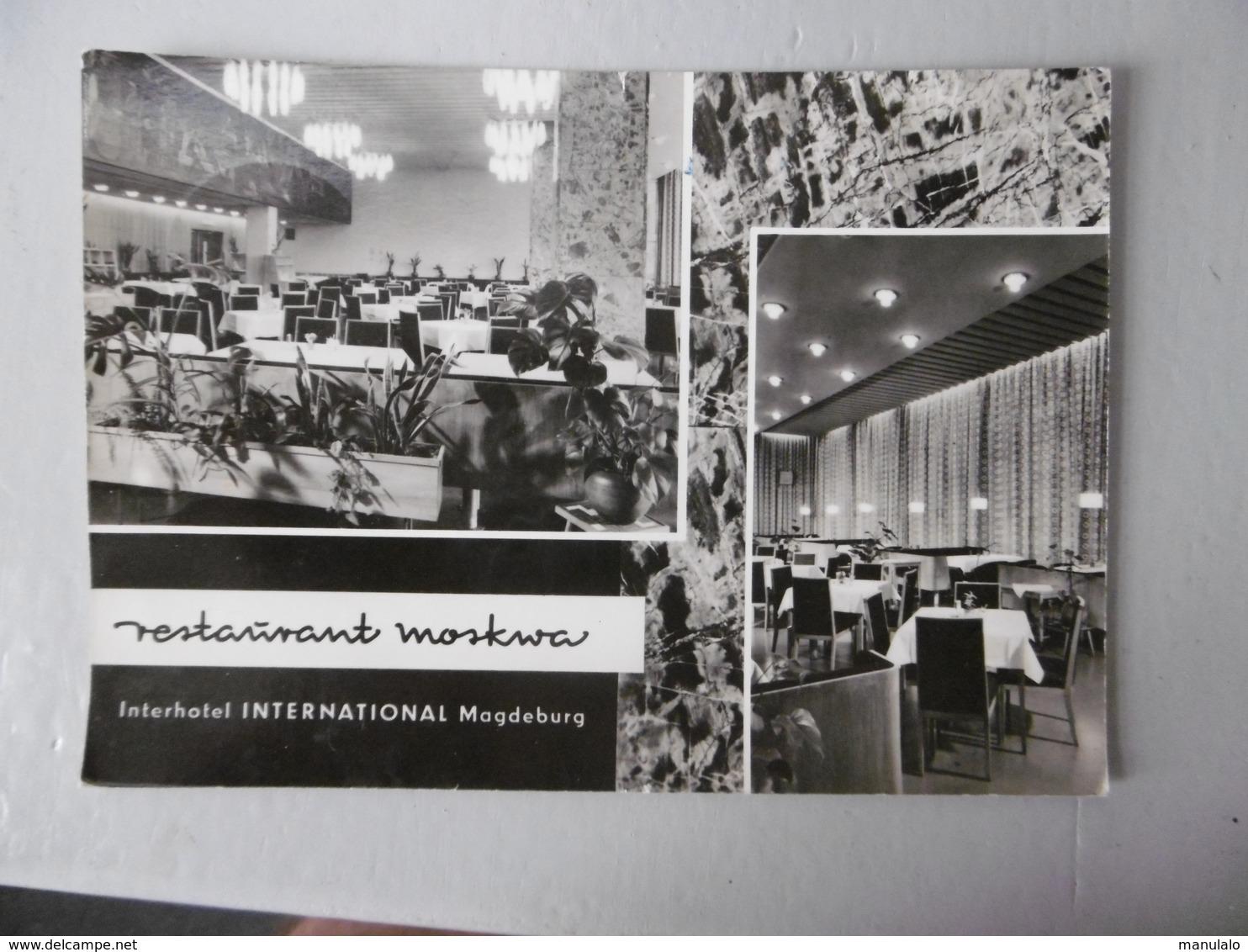 Magdeburg - Restaurant Moskwa - Interhotel International - Magdeburg