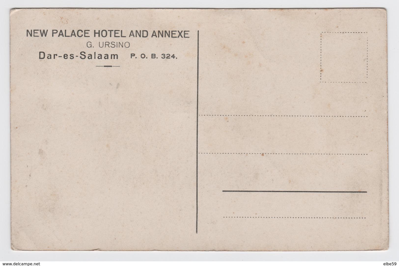 Tanzania, Dar-es-Salaam, New Palace Hotel And Annexe, Unused - Tanzania