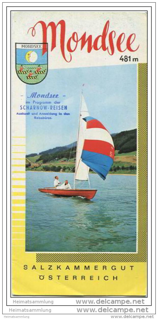 Mondsee - Faltblatt Mit 8 Abbildungen - Oesterreich