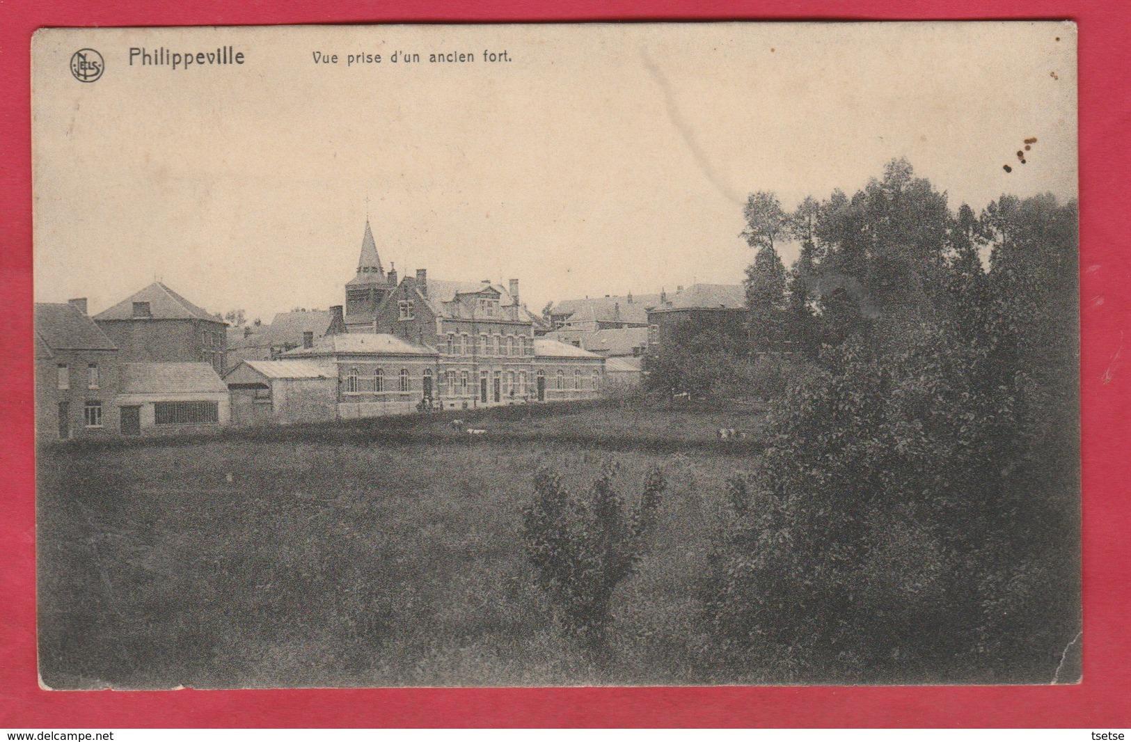 Philippeville - Vue Prise D'un Ancien Fort - 1910 ( Voir Verso ) - Philippeville