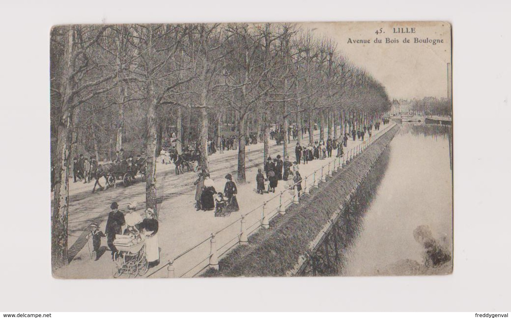 LILLE AVENUE DU BOIS DE BOULOGNE - Lille