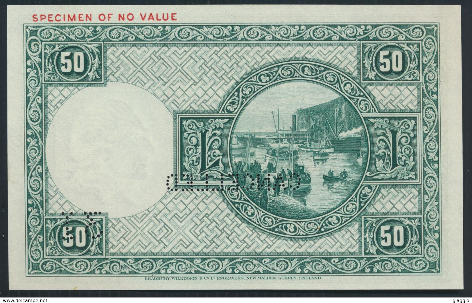 °°° SPECIMEN ICELAND 50 KRONUR 1956 °°° - Iceland