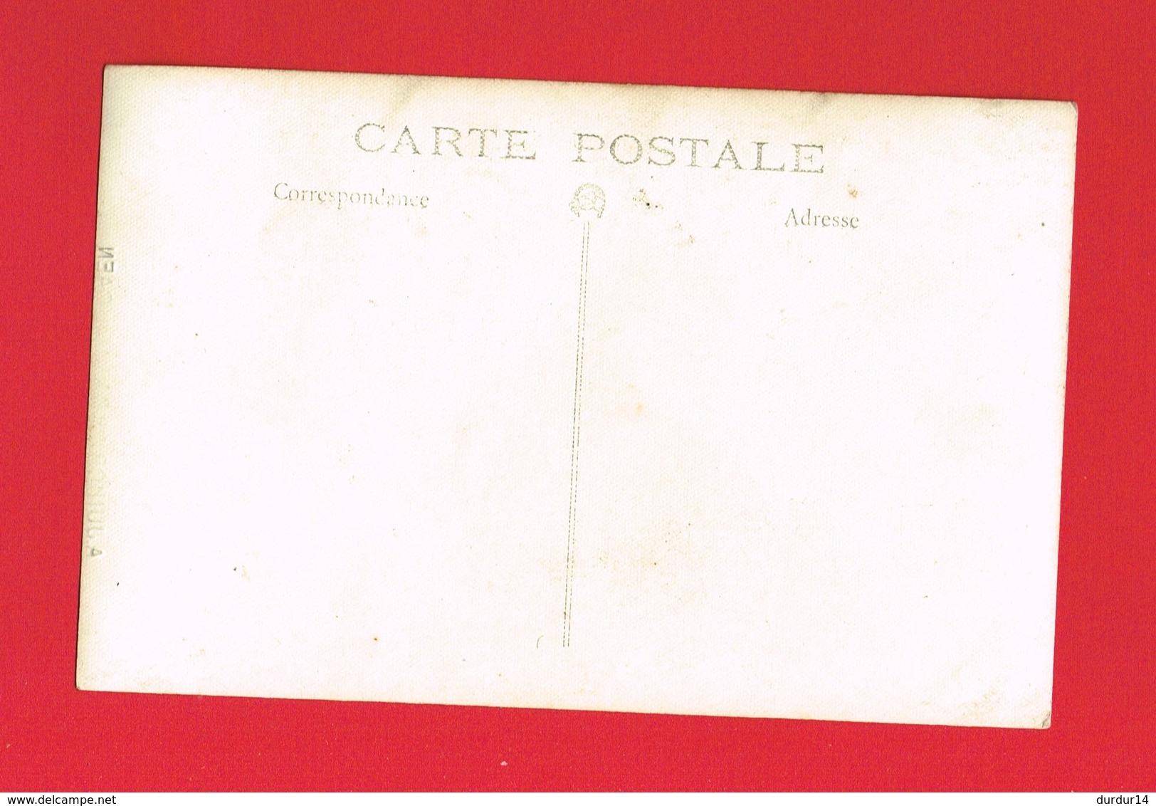 [14] Calvados > CAEN Carte Photo De A JUNIOR 28 Rue St Jean Guerre 14-18 Défilé De Marins - Caen