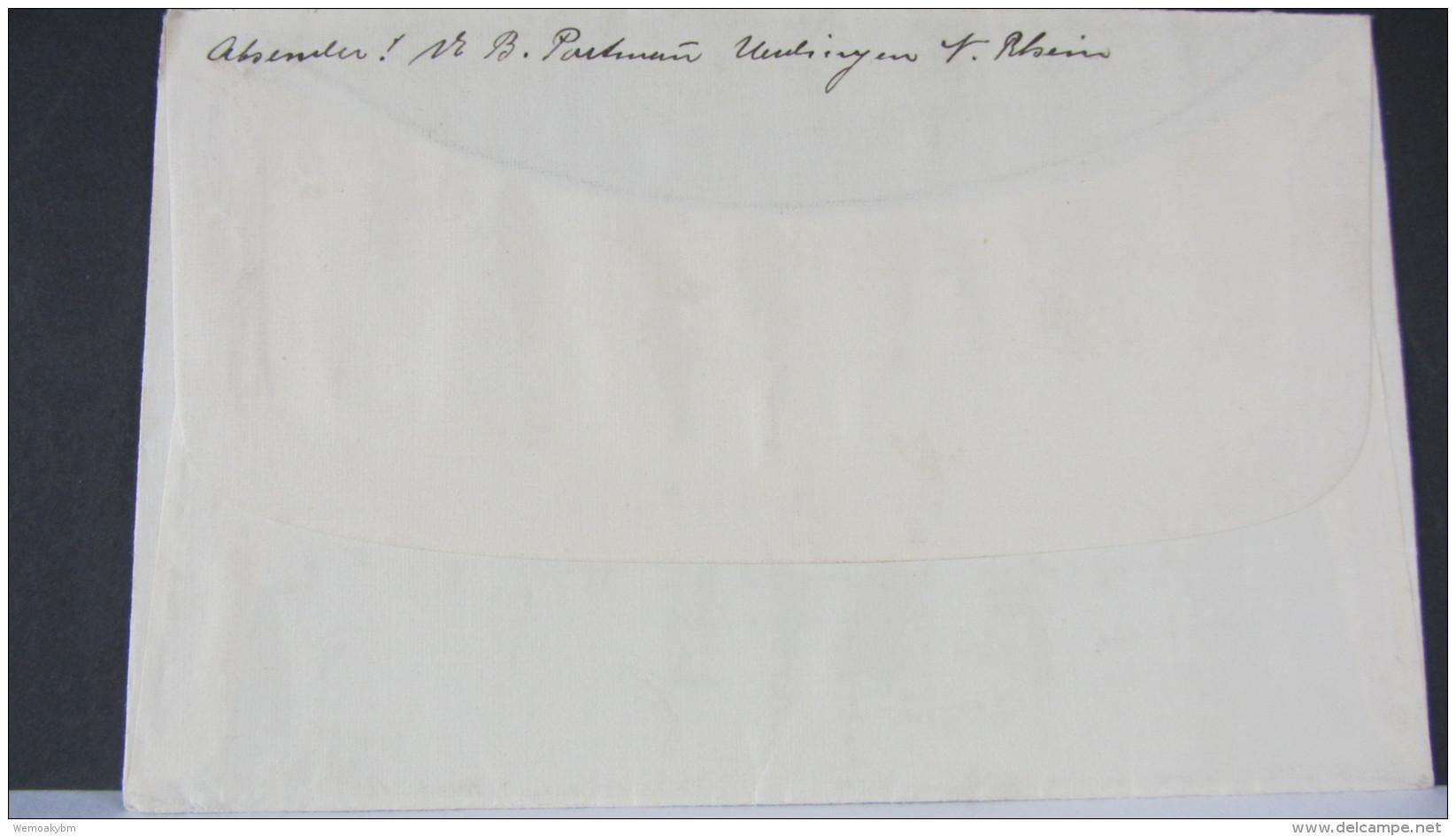 DR Bis 32: Ausl-Brief Mit 25 Pf Hindenburg Aus UERDINGEN (Niederrhein) Vom 8.5.34 Nach Bern (Schweiz) Knr: 522 - Deutschland