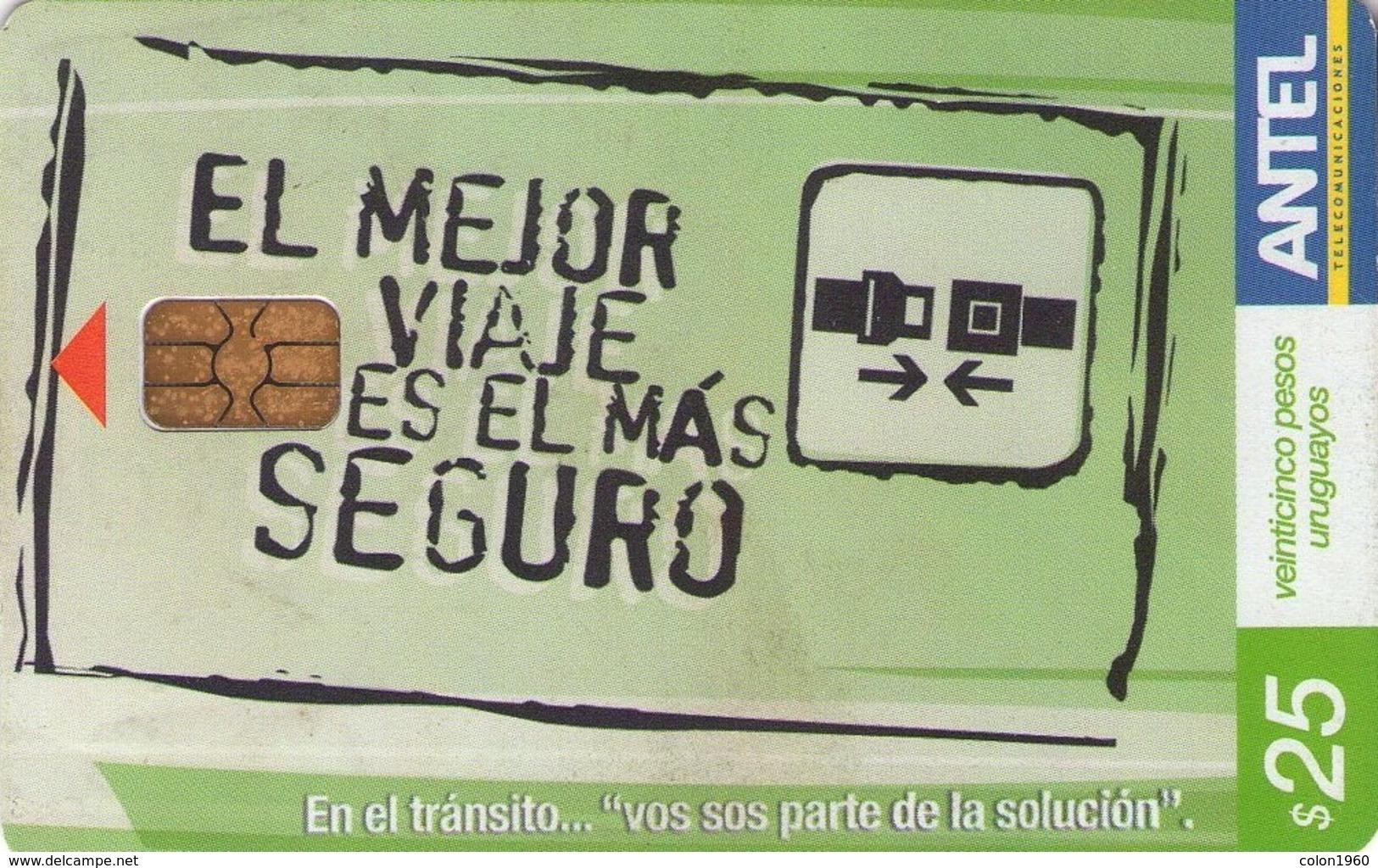 TARJETA TELEFONICA DE URUGUAY, 493a (014) - Uruguay