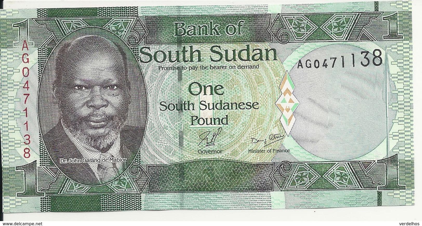 SOUDAN SOUTH 1 POUND ND2011 UNC P 5 - Soudan