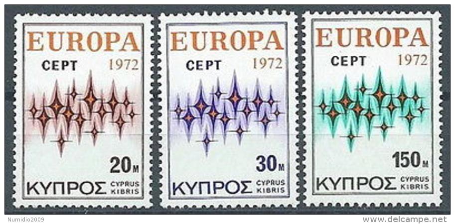 1972 EUROPA CIPRO MNH ** - EU8824 - Europa-CEPT
