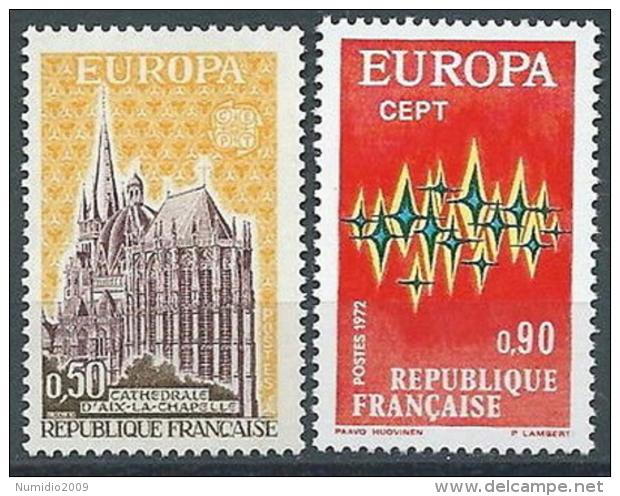 1972 EUROPA FRANCIA MNH ** - EU8824 - Europa-CEPT