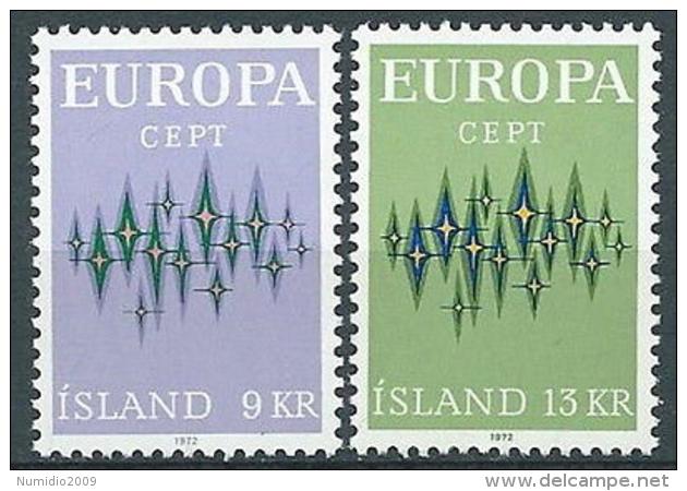 1972 EUROPA ISLANDA MNH ** - EV-2 - 1972