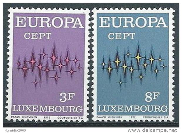 1972 EUROPA LUSSEMBURGO MNH ** - EV-2 - Europa-CEPT
