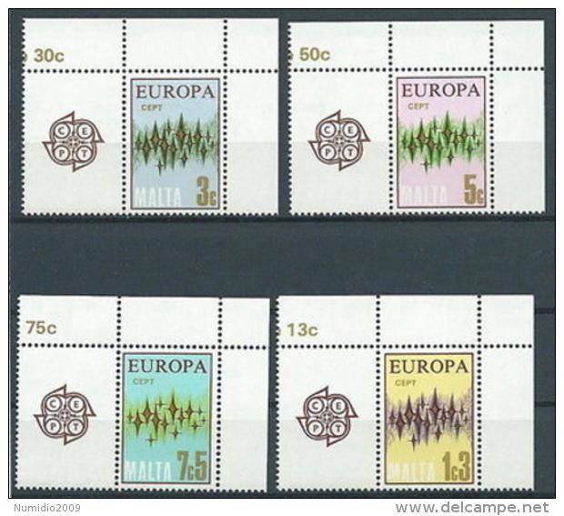 1972 EUROPA MALTA MNH ** - EV-2 - 1972