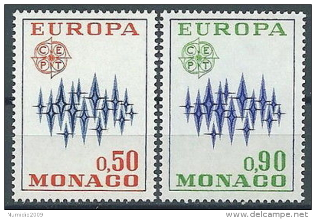 1972 EUROPA MONACO MNH ** - EU8824 - Europa-CEPT