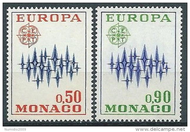1972 EUROPA MONACO MNH ** - EV - 1972