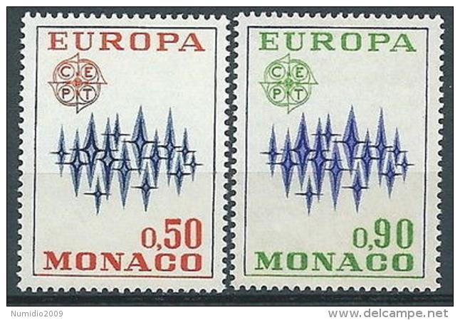 1972 EUROPA MONACO MNH ** - EV-2 - Europa-CEPT