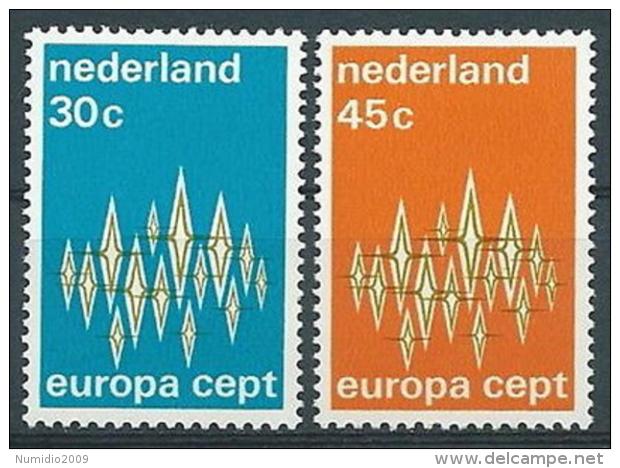 1972 EUROPA OLANDA MNH ** - EV - Europa-CEPT
