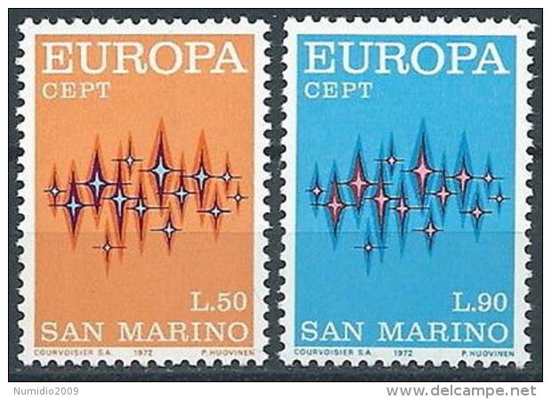 1972 EUROPA SAN MARINO MNH ** - EV-8 - 1972