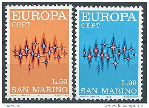 1972 EUROPA SAN MARINO MNH ** - EV-9 - 1972