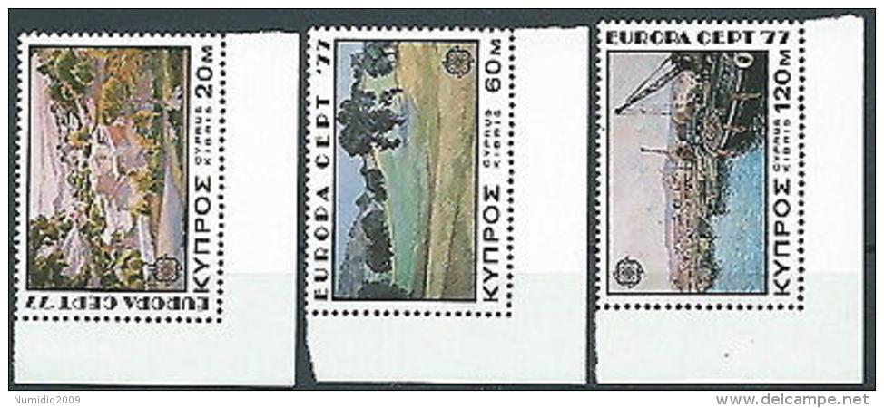 1977 EUROPA CIPRO MNH ** - EV - 1977