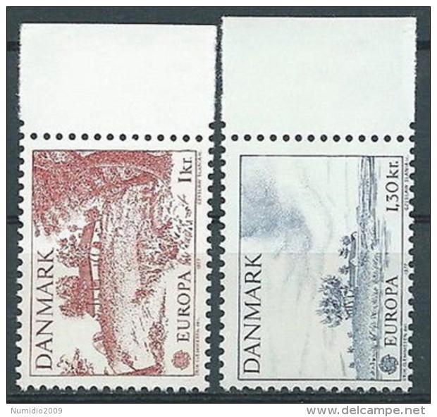 1977 EUROPA DANIMARCA MNH ** - EV - Europa-CEPT