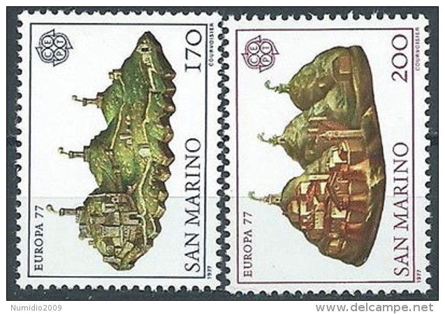 1977 EUROPA SAN MARINO MNH ** - EV - Europa-CEPT