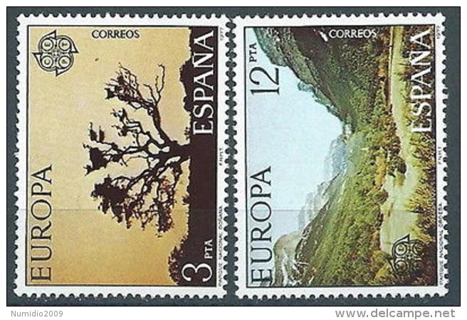 1977 EUROPA SPAGNA MNH ** - EV - Europa-CEPT