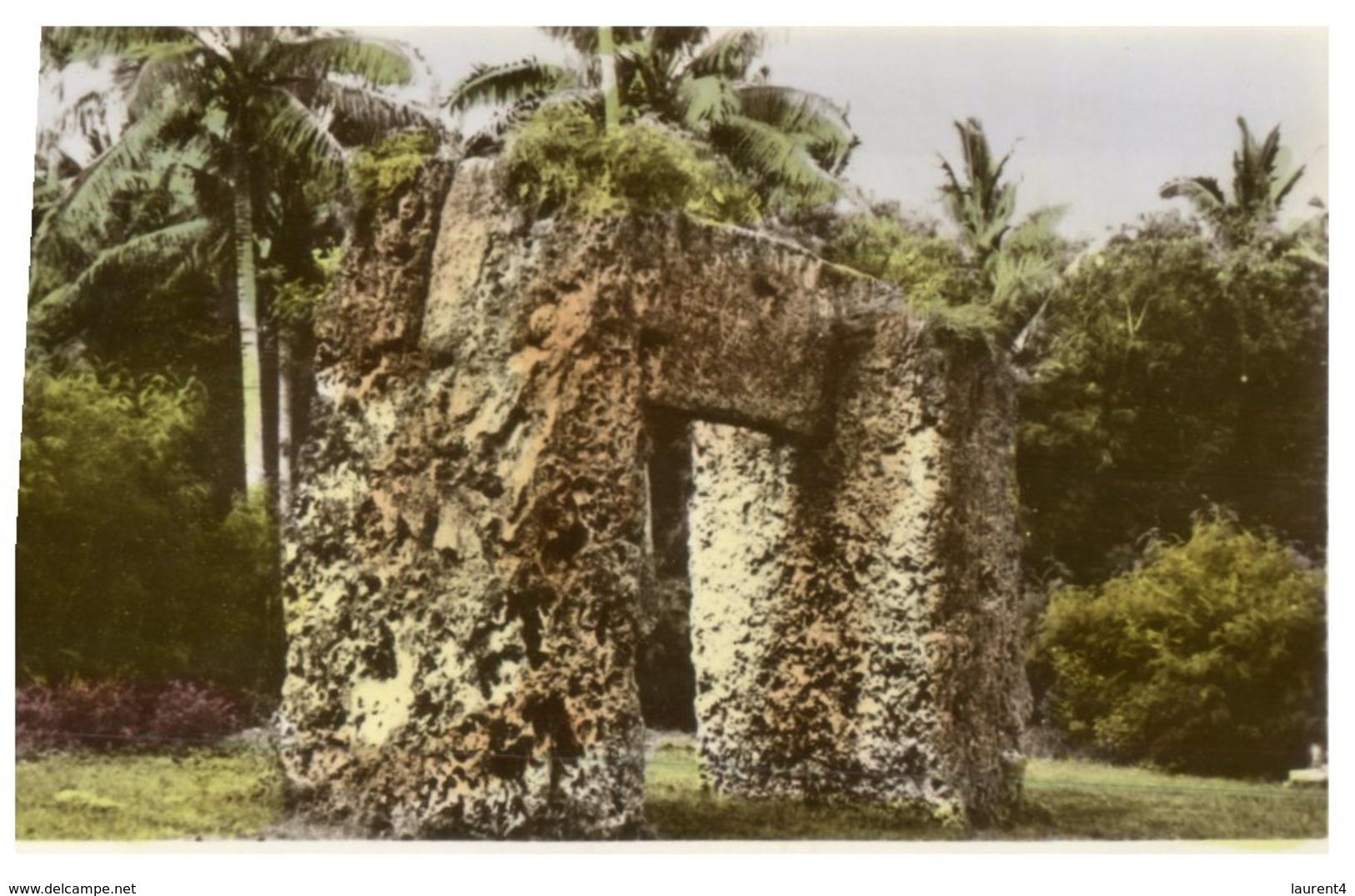 (200) Tonga - Prehistorique Trilithon ? - Tonga