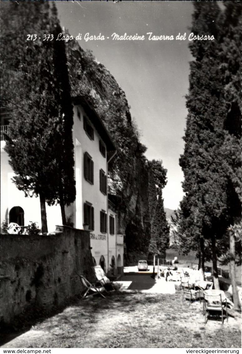 ! Mod. Ansichtskarte Lago Di Garda, Malcesine, Taverna Del Corsaro - Italia