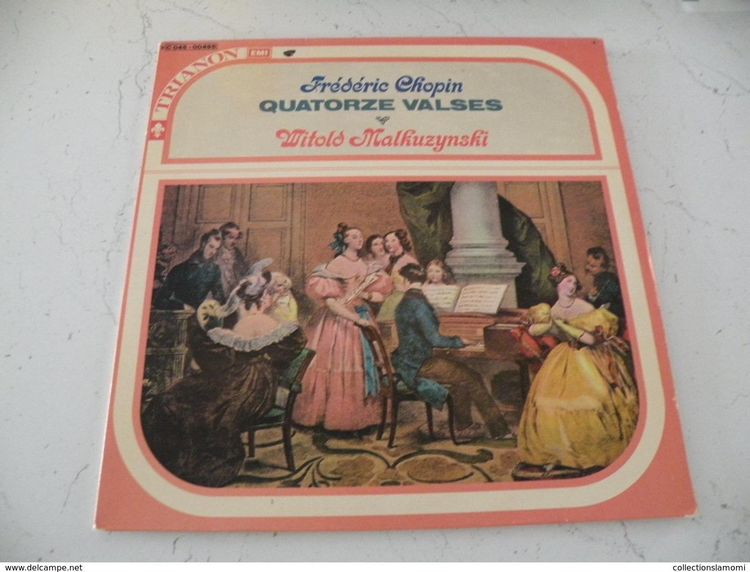 Frédéric Chopin, Pianiste Witold Malcuzynski -  (Titres Sur Photos) - Vinyle 33 T - Klassik