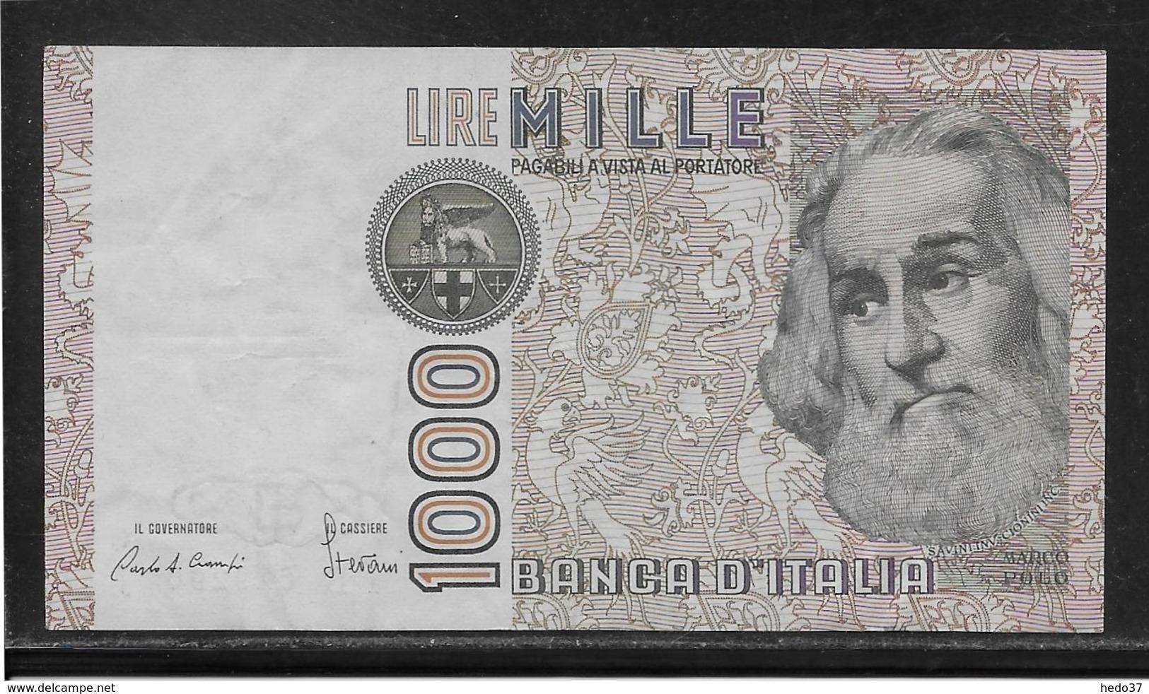 Italie - 1000 Lire - Pick N°109 - TB - [ 2] 1946-… : République