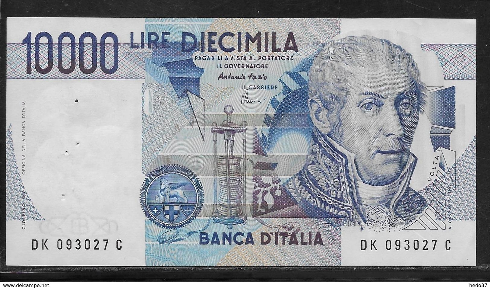 Italie - 10000 Lire - Pick N°112d - SUP - [ 2] 1946-… : République