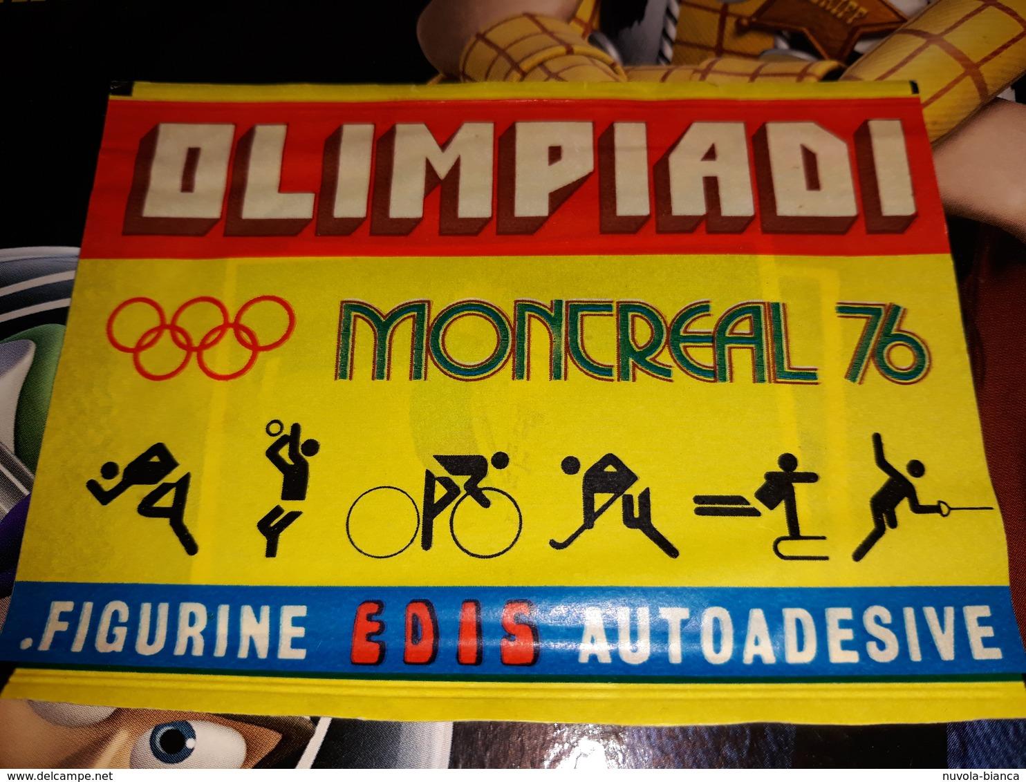 Olimpiadi Montreal 76.bustina Chiusa Figurine Edis - Stickers