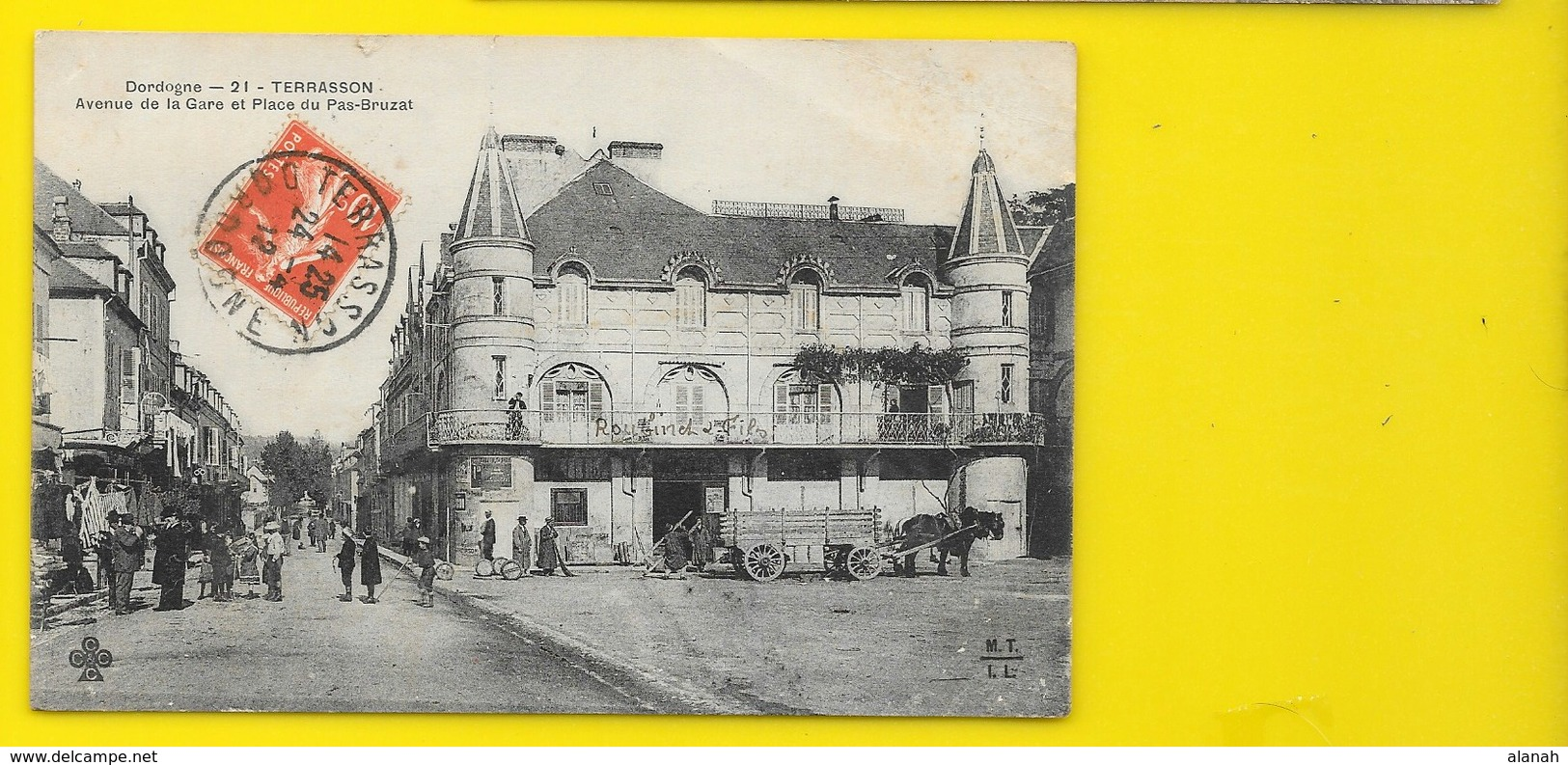 TERRASSON Avenue De La Gare Et Place Du Pas-Bruzat (MTIL) Dordogne (24) - France