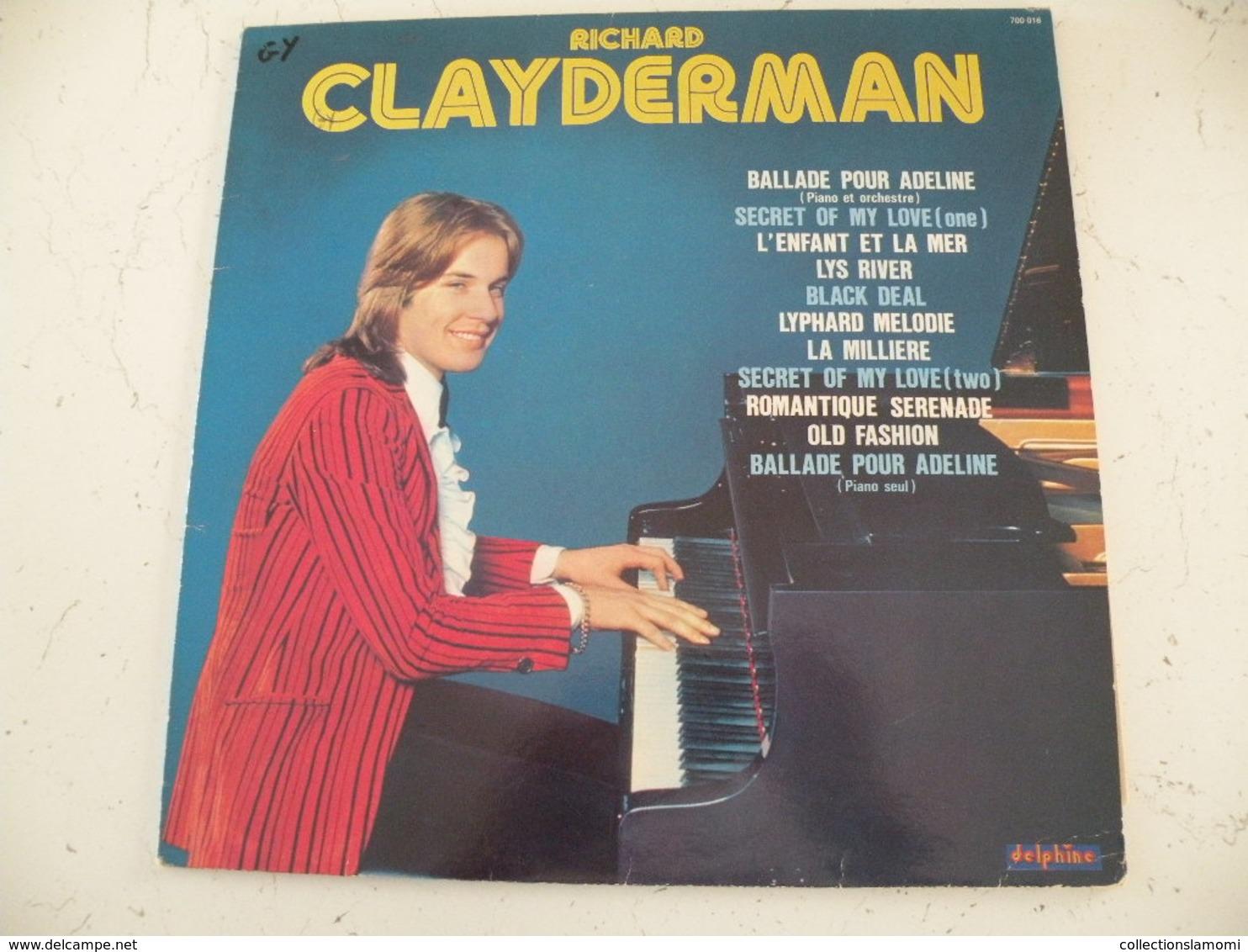 Richard Clayderman 1977 -  (Titres Sur Photos) - Vinyle Album 33T - Instrumental