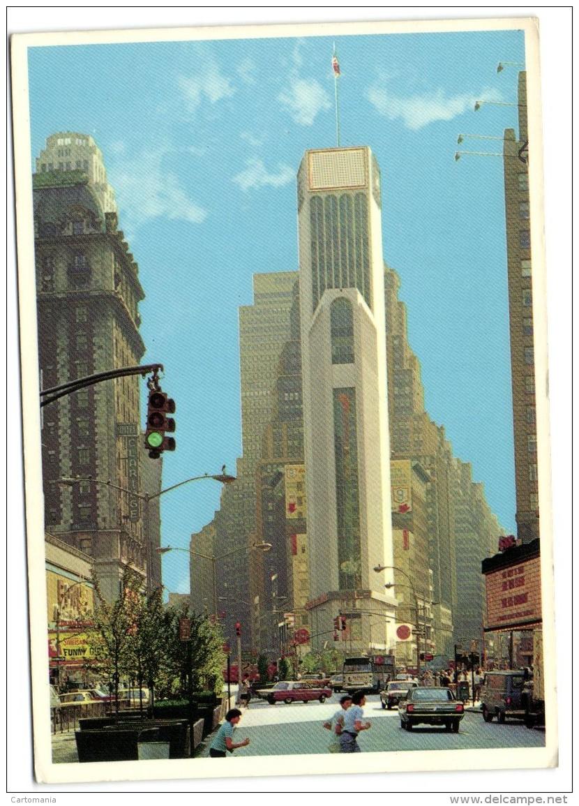 New York City- Times Square Showing Broadway - Non Classés