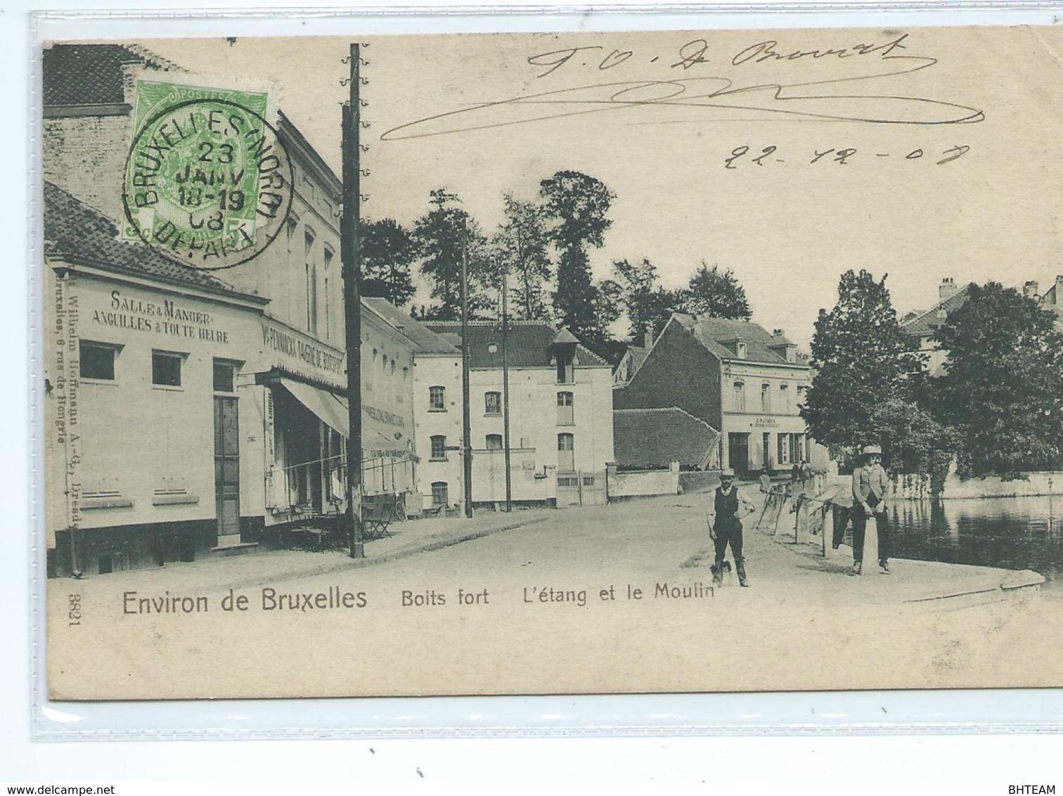 Boitsfort Etang Et Moulin - Watermael-Boitsfort - Watermaal-Bosvoorde