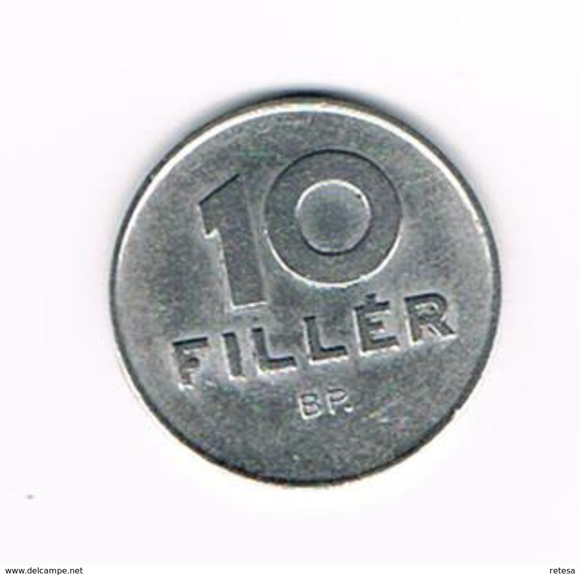 =&   HONGARIJE  10  FILLER  1969  BP - Hungary