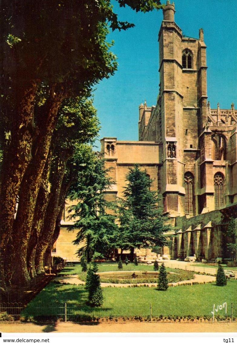 11 - NARBONNE - LA CATHÉDRALE SAINT-JUST ET LE JARDIN DU MUSÉE - Narbonne
