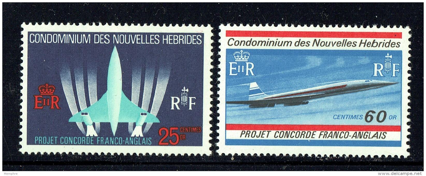 1968   Projet Concorde  ** - Ungebraucht
